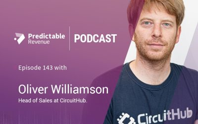 Building and evolving a successful sales team with Oliver Williamson