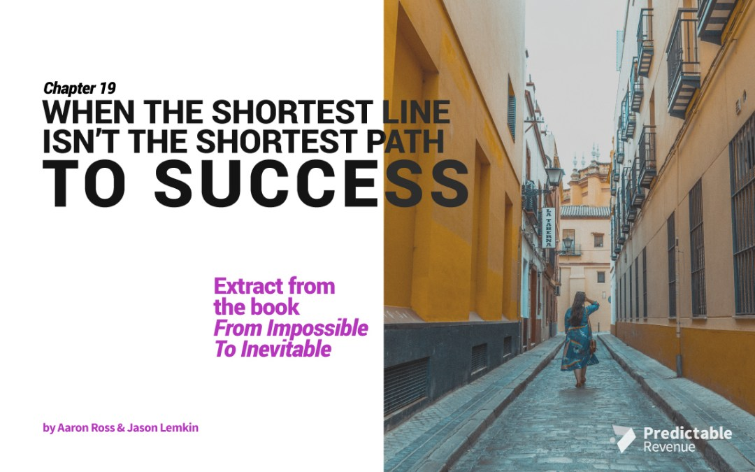 When a Straight Line Isn't The Shortest Path To Success