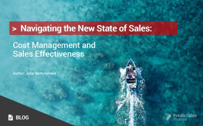 Navigating the New State of Sales: Cost Management and Sales Effectiveness