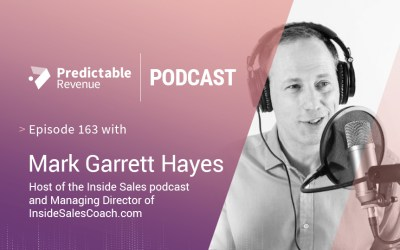 Why SDRs should set their own targets with Mark Garrett Hayes