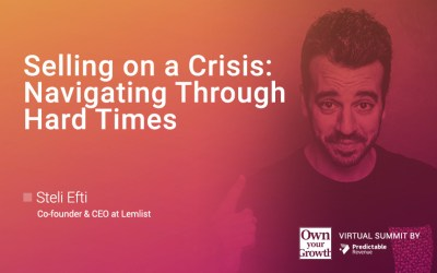 Selling in a Crisis: Navigating Through Hard Times