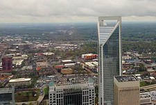 A perfect view of Charlotte from the substitute venue? longdesc=