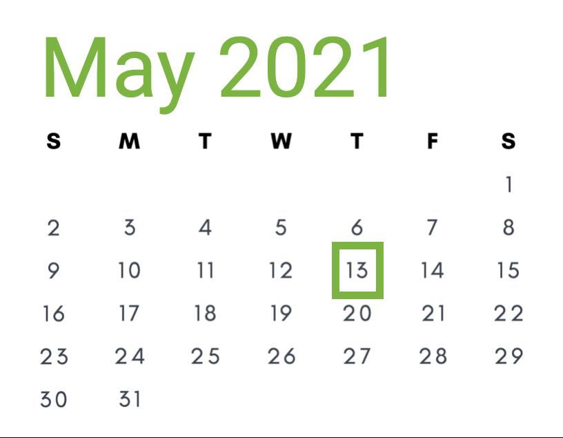 May 13, 2021