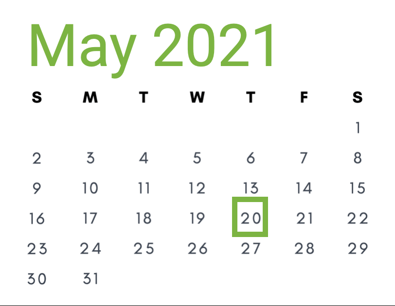 May 20, 2021