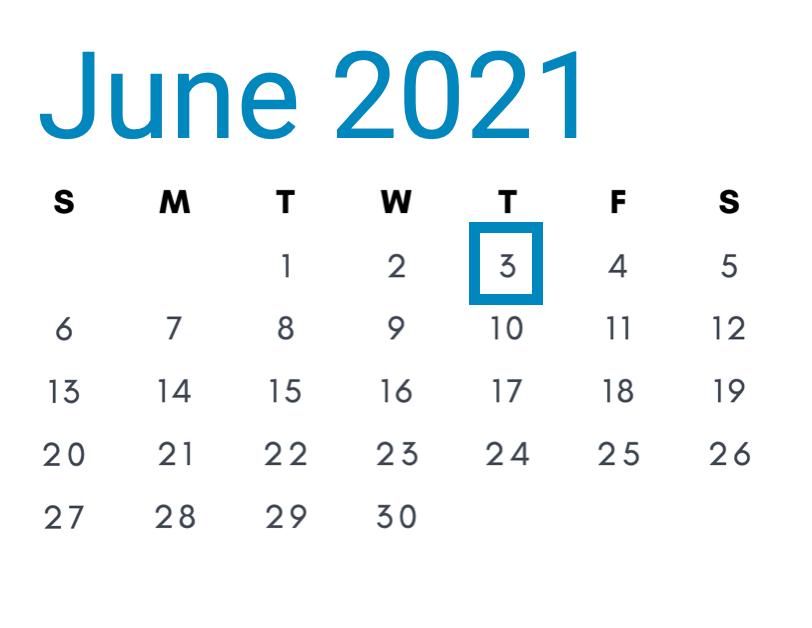 June 3, 2021