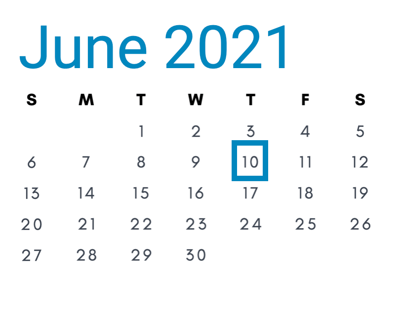 June 10, 2021
