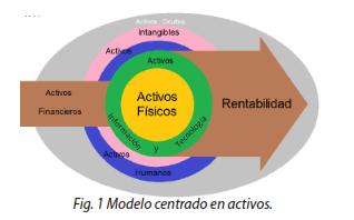 Fig. 1 Modelo centrado en activos