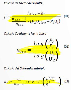 Ecuaciones 1, 2 y 3