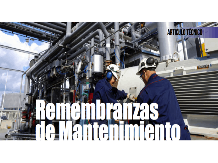 Remembranzas de Mantenimiento0 (0)