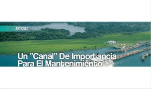 """Un """"Canal"""" de Importancia para el Mantenimiento"""