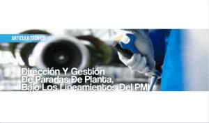 Dirección y Gestión de Paradas de Planta, Bajo los Lineamientos del PMI
