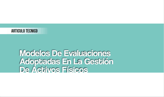 Modelos de Evaluaciones Adoptados en la Gestión de Activos Físicos
