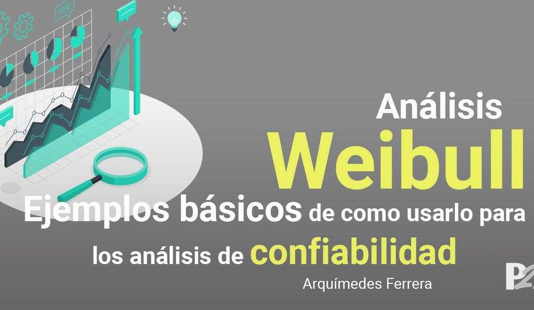 Análisis Weibull: Ejemplos Básicos de como usarlo para los Análisis de Confiabilidad