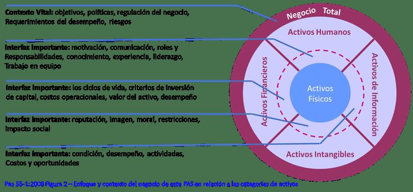 Figura 1. Relación entre las diferentes categorías de activo