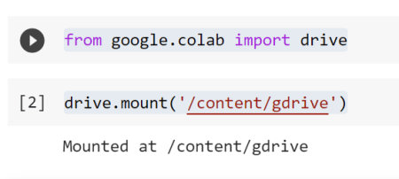 How to get Data from Google Drive into Colab 1