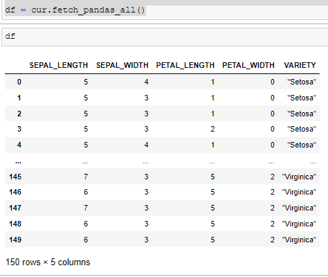 How to Get Data from Snowflake using Python 3