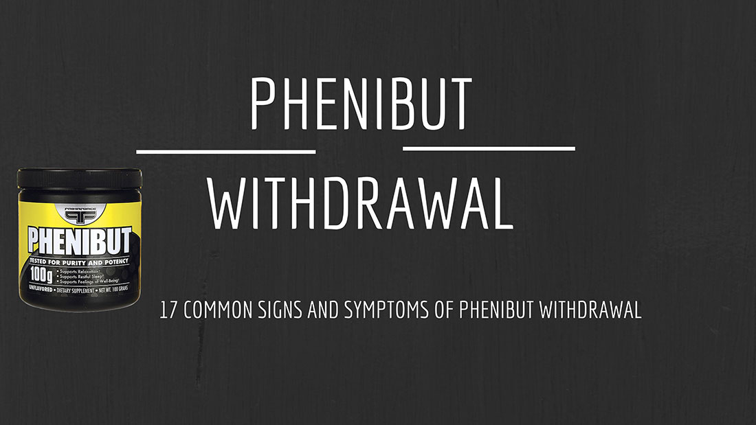 Phenibut-Withdrawal