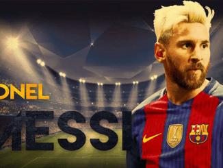 Messi Cetak 4 Gol Saat Kalahkan Eibar