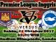 Prediksi Bola Nanti Malam West Ham United VS Brighton Hove Albion
