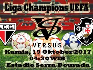 Prediksi Skor Bola Atletico Goianiense VS Vasco da Gama