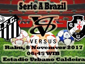 Prediksi Skor Bola Santos VS Vasco da Gama