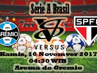 Prediksi Skor Jitu Gremio VS Sao Paulo