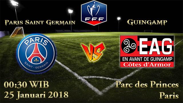 Prediksi Bola Paris Saint Germain vs Guingamp