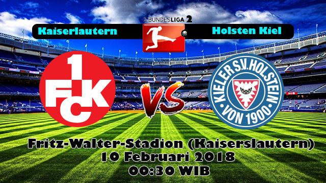 Prediksi Skor Akurat Kaiserslautern vs Holstein Kiel