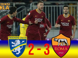 Cuplikan Gol Frosinone 2 - 3 AS Roma (Serie A)
