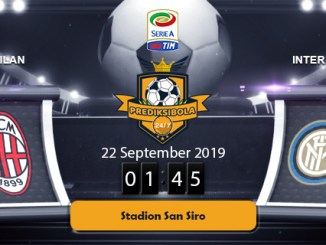 PREDIKSI BOLA JITU AC MILAN VS INTER MILAN 22 SEPTEMBER 2019
