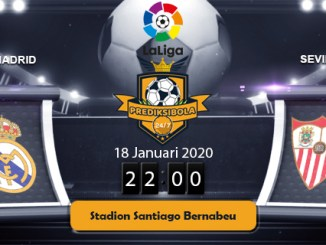 PREDIKSI BOLA JITU REAL MADRID VS SEVILLA 18 JANUARI 2020