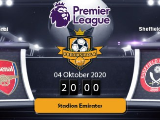 PREDIKSI BOLA JITU ARSENAL VS SHEFFIELD UNITED 4 OKTOBER 2020