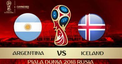 Prediksi Bola Argentina vs Iceland Tanggal 16 Juni 2018