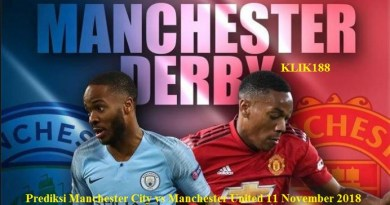 Manchester City vs Manchester United 11 November 2018