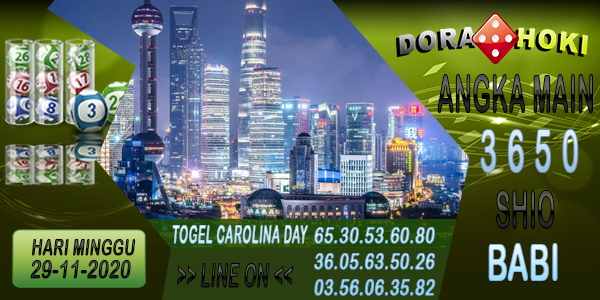 Prediksi Carolina Day Minggu 29 November 2020