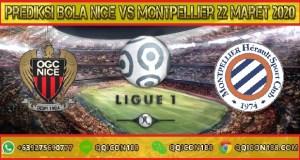 Prediksi Bola Nice Vs Montpellier 22 Maret 2020