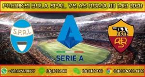 Prediksi Bola SPAL vs AS Roma 03 Mei 2020