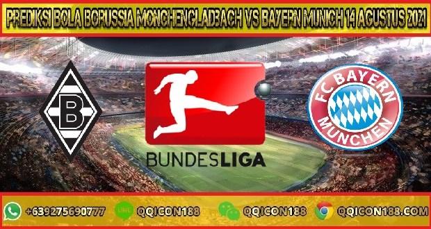 Prediksi Bola Borussia Monchengladbach Vs Bayern Munich 14 Agustus 2021