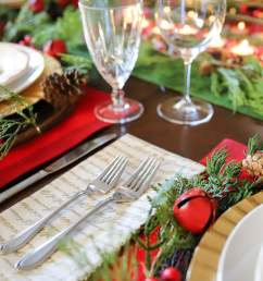 how to set the table table setting ideas ideas for holiday table settings  [ 2048 x 1365 Pixel ]