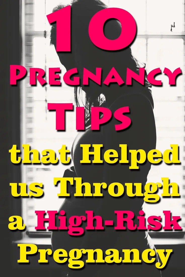 If you are facing a high-risk pregnancy? Don't take it lightly, but try to be as calm as possible about it. My son went from near 0% chance of survival to a viable pregnancy by following these 10 tips.