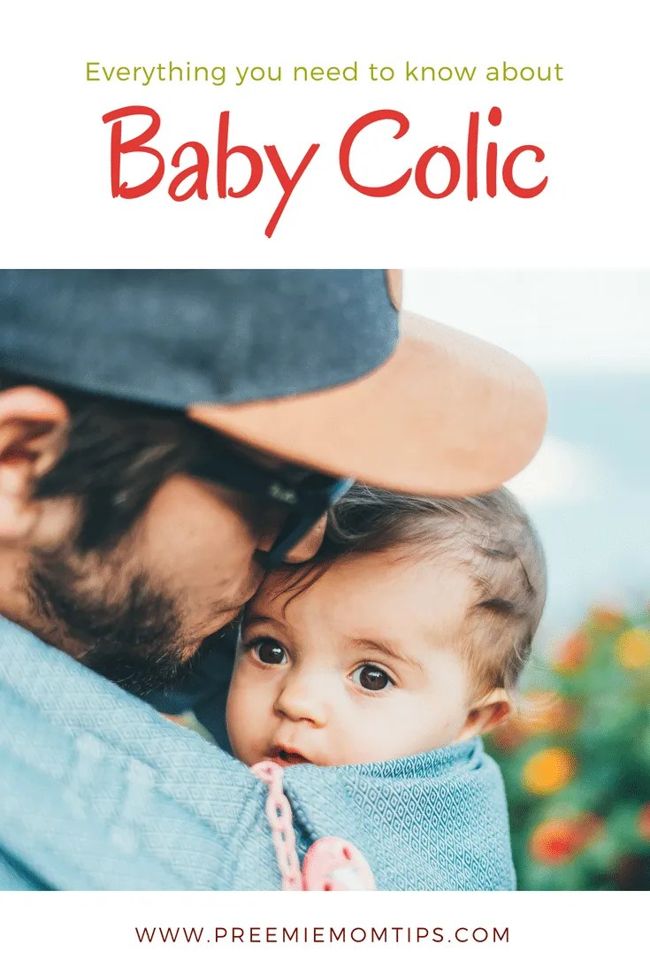Colic affects up to 1 in every 5 babies. If your baby has been crying at least 3 times a week for 3 or more hours for the past three weeks, she may be colicky #colic #baby #parenting #preemie #cryingbaby