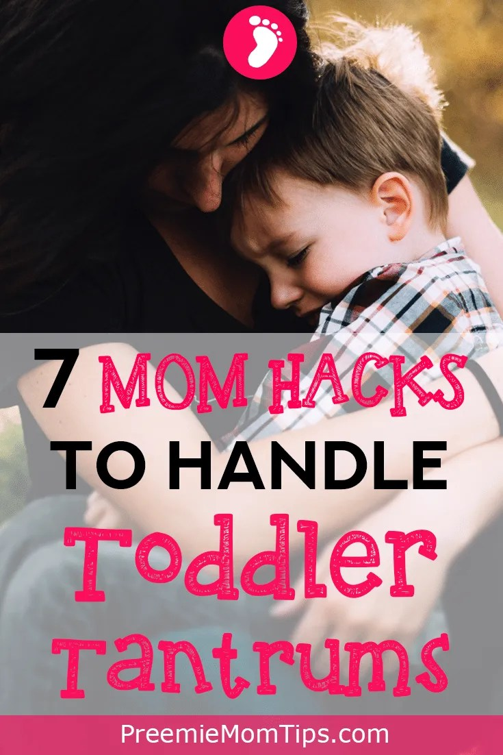 Did you know that temper tantrums are a sign of a happy, well-educated toddler? It's just a difficult phase. Find out all about this preemie mom's method of dealing with tantrums that ACTUALLY WORKS!