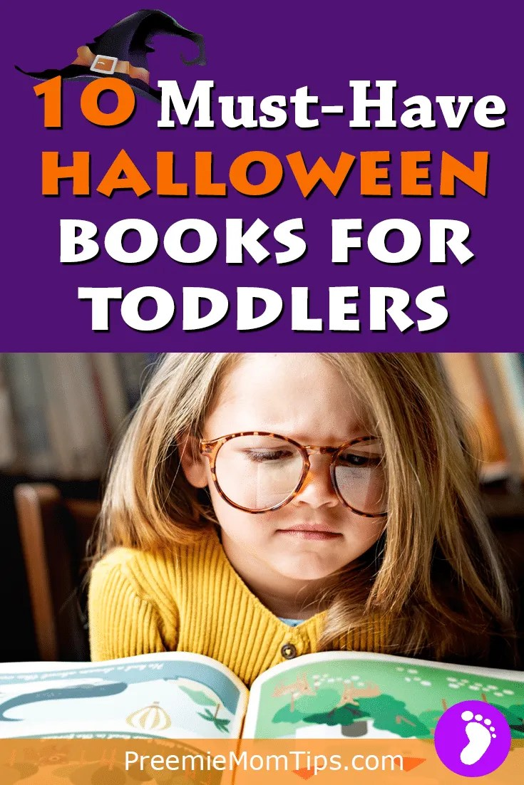 Teach your children the value of reading, controlling emotions, and learning all about Halloween with these fantastic Halloween books for Toddlers! #mom #Halloween #toddler
