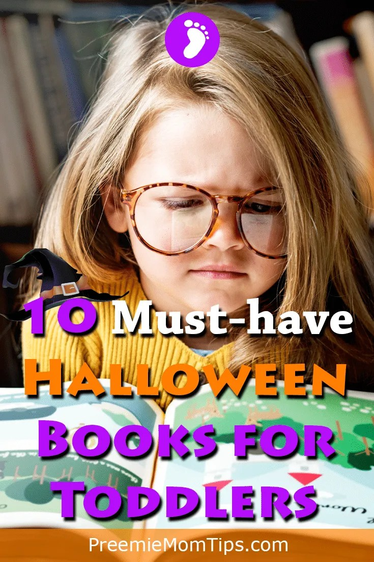 Get in the mood for trick or treat with our top 10 must-have Halloween books for toddlers. Toddlers will learn about fear, friendship, and have a not-so-spooky cute overdose! #mom #Halloween #toddler