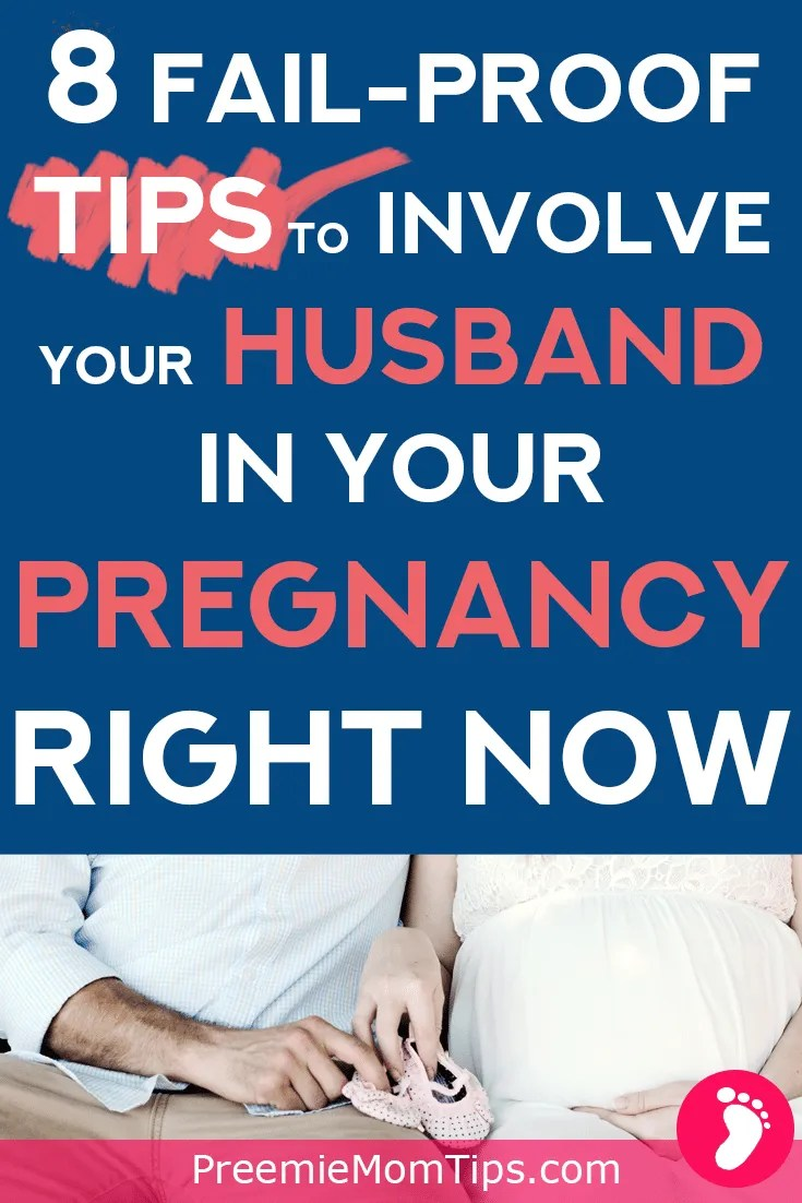 Check out these fail proof tips to involve your husband in your pregnancy today!