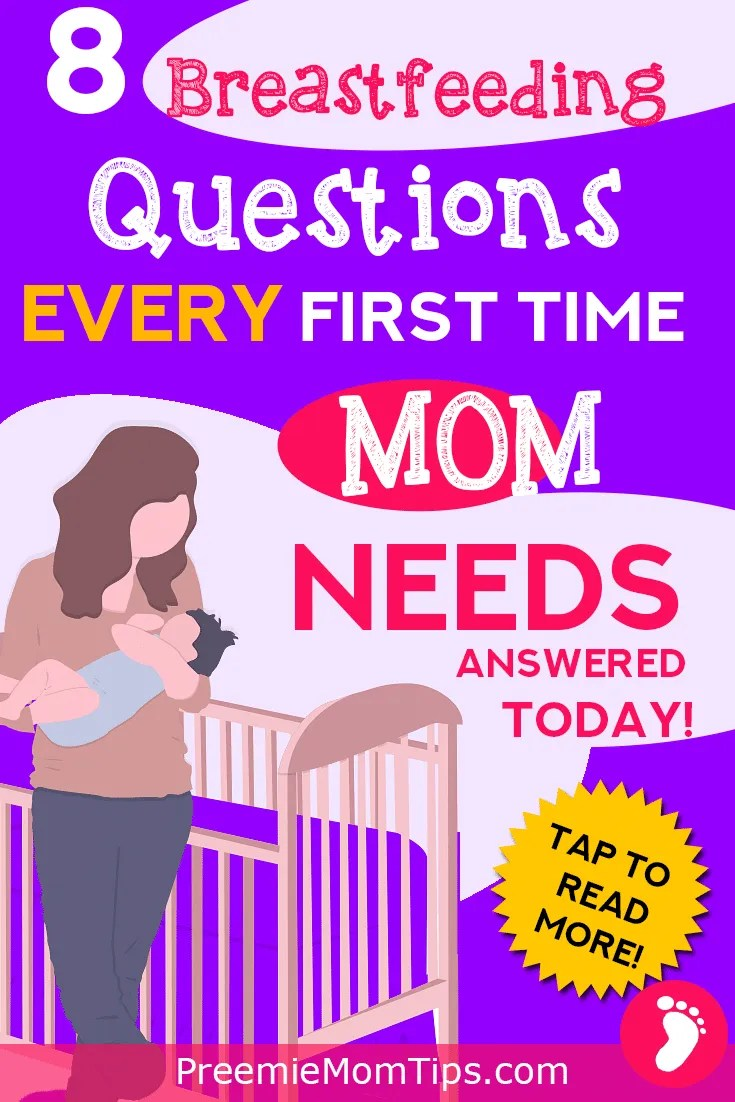 Are you pregnant and planning on breastfeeding? Do you worry that it may not be that easy? Take a look at the top 8 common breastfeeding questions every new mom has after her newborn baby is born!
