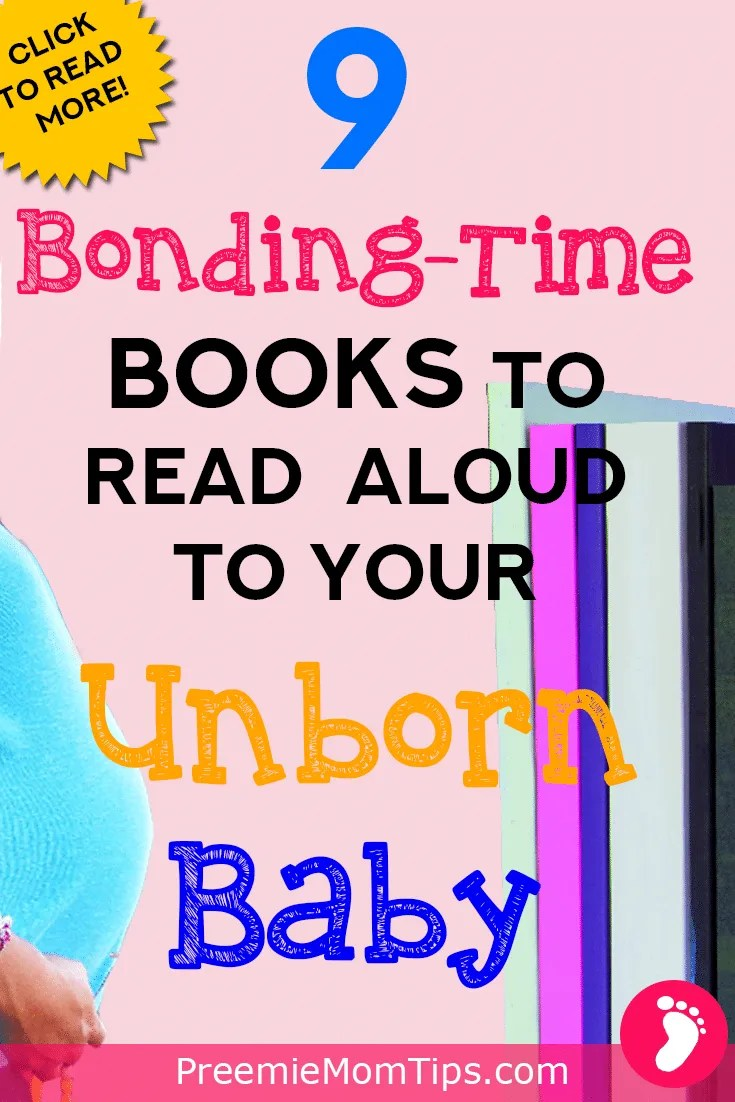These books to read to your unborn baby. These books are super cute, and perfect for the mommy and daddy to be to read aloud to your little miracle!