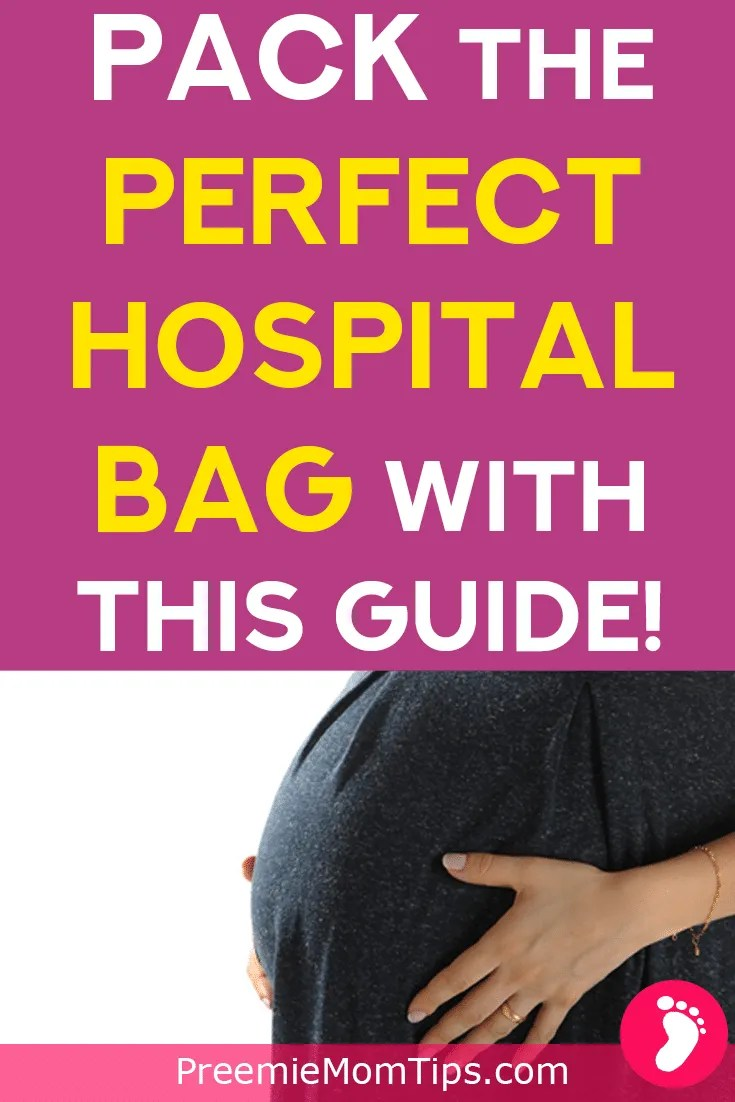 Get ready for the big day with this comprehensive checklist of items you definitely need in your hospital bag! Take care of your newborn baby, the new dad, and the new mom with all of these items!