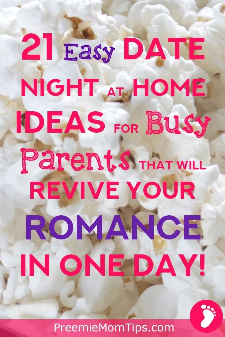 Get a healthy space for you and your partner after the kids are asleep with these 21 date night at home ideas that will surely strengthen your relationship
