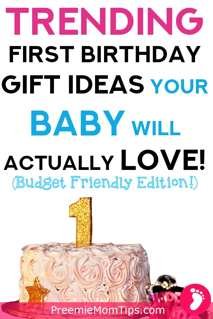 Check out these amazing, stimulating, affordable gifts for your baby's first birthday! Guaranteed that she will love them!